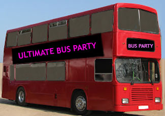 Red London Double Decker Bus Hire